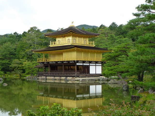 Kinkakuji, Padiglione d'oro a Kyoto
