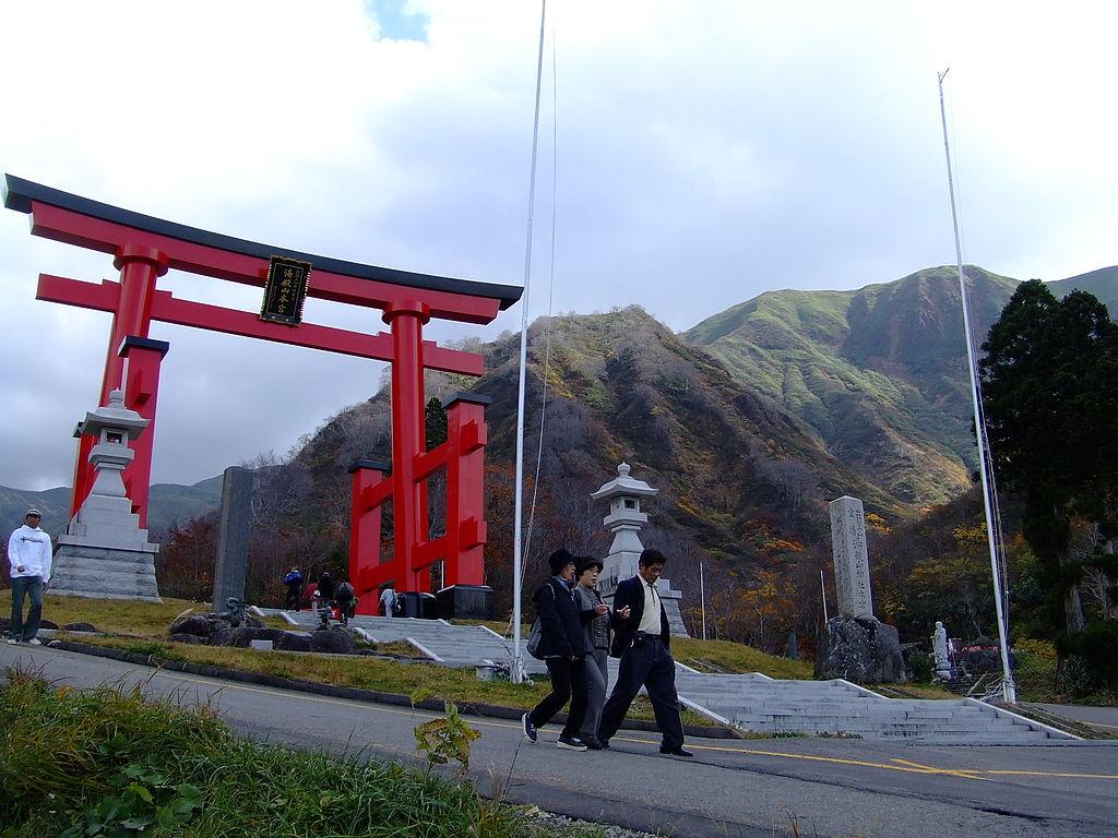 Monte Yudono Dewa Sanzan